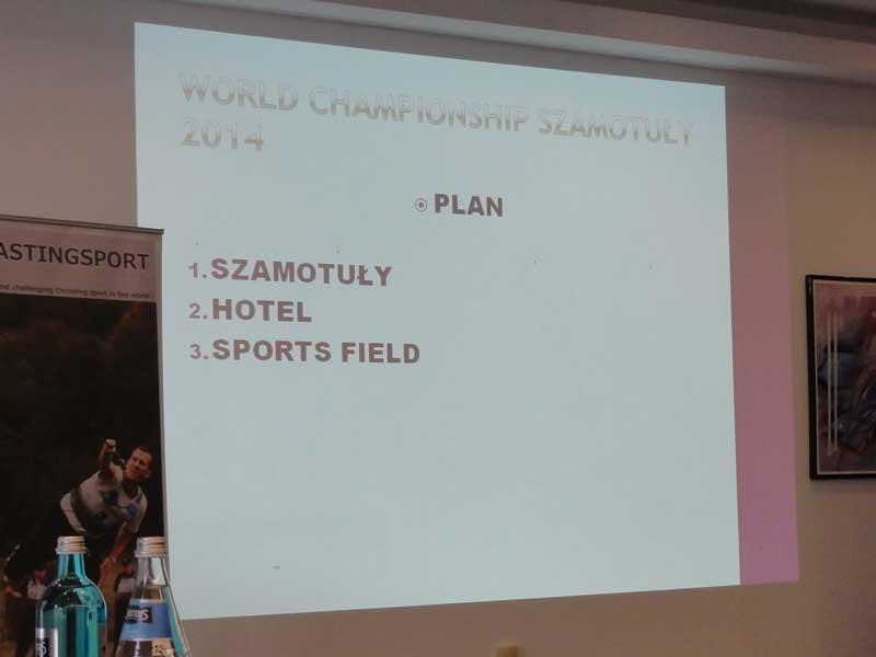 世界選手権2013 公式練習日&ICSF総会
