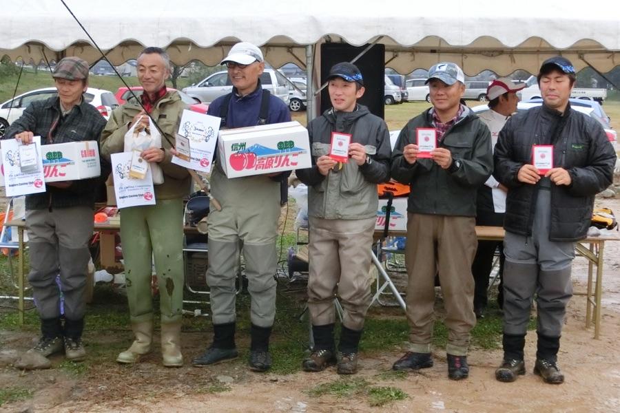 2016年トラウトリバー市川 フライキャスティング記録会 3月大会