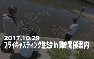 2017年フライキャスティング競技会 in 岡崎 開催案内