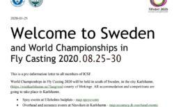 2020年フライキャスティング世界選手権